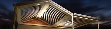 patio attached louvered roof