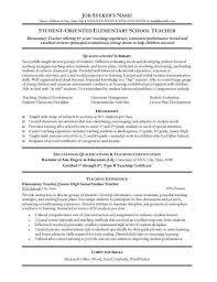 music technology teacher resume   sales   teacher   lewesmrsample resume  sle teacher resume elementary school resumes