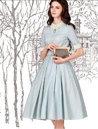 <b>Vintage</b> Inspired Style 1950s Fashion <b>Elegant Dress</b> | <b>Vintage</b> 1950s ...