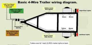 4 wire trailer wiring 4 image wiring diagram 4 wire flat diagram trailer flat 4 wire trailer wiring diagram on 4 wire trailer wiring