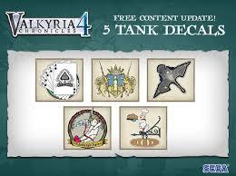 Steam :: <b>Valkyria Chronicles 4</b> Complete Edition :: Free tank <b>decal</b> ...