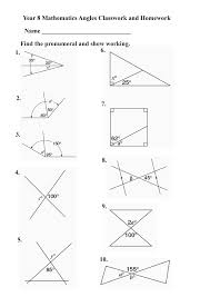 Howszat Maths | The greatest WordPress.com site in all the land ...Year 8 angles rev1 worksheet
