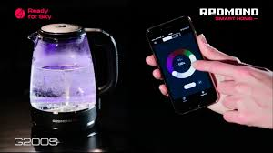 Умный <b>чайник</b>-светильник <b>REDMOND SkyKettle</b> G200S с ...