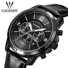 <b>Men Watches CADISEN</b> Top Hot Fashion Sport Brand Luxury Quartz ...