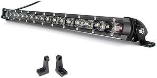 Led Light Bar XuanBaOffroad Ultra-thin 20 Inch Single ... - Amazon.com