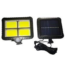 LED <b>Solar</b> Split Wall Light Black 128LED <b>Solar</b> Wall Lights Sale ...