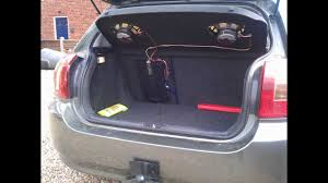 how to install a car amplifier wiring
