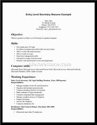secretary resume sample jpg  tomorrowworld cosecretary resume