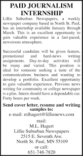 jobs lillie suburban newspapers lillienews com full and part time s executives lillie suburban newspapers position is based out of our north st paul office lillie suburban newspapers is looking for