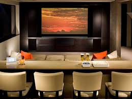 awesome home theatre design ideas with cream wooden laminate bar countertop in home theater and cream built home bar cabinets tv