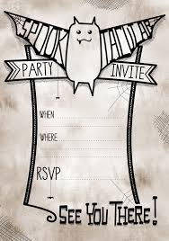 halloween birthday party invitations printable com halloween birthday party invitations printable for party invitations inspiration design 11