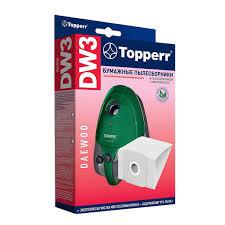 Комплект бумажных <b>мешков для пылесоса Topperr</b> DW 3 в Санкт ...