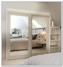 mirrored bypass closet doors mirrored sliding closet doors charming mirror sliding closet doors toronto