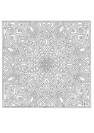 """Résultat de recherche d'images pour """"coloriage à imprimer mandala difficile"""""""