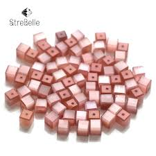 shangquan aaa 200pcs multi color glass flat beads spacer beads 9x6mm jewelry fittings wholesale diy making