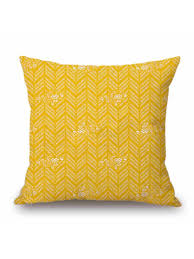 Buy Sofa <b>Cushion</b> Cover Solid <b>Colored Geometric Pattern</b> Square ...