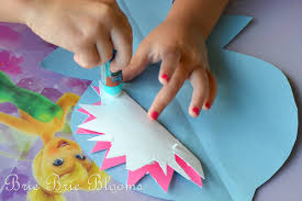 kids craft shark puppet brie brie blooms kids craft shark puppet 7