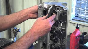 How To Remove <b>Valves</b> From A <b>Cylinder Head</b> - YouTube