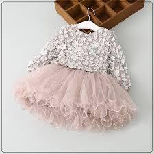 <b>High quality Spring</b> Girls petal Dress Baby Girls Princess long ...