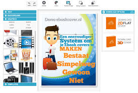 Ebookcover.nl: EbookCover Software 2D & 3D covers
