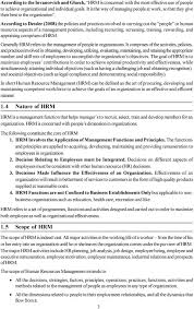 unit introduction to human resource management pdf according to dessler 2008 the policies and practices involved in carrying out the people