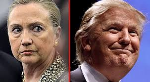 Image result for trump pressures hillary