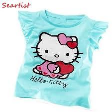 <b>Seartist Baby Girls Summer</b> Hello Kitty T Shirt Girl Short T shirt Baby ...