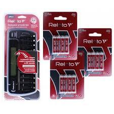 <b>Зарядное устройство Relato</b> APRC22 + 12 AAA 1000mAh