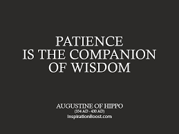 Augustine of Hippo Patience Quotes | Inspiration Boost ...