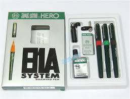 Hero pens set 81A 7 pen ink <b>needle drawing pen hook</b> line pen ...