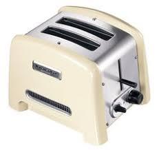 Тостер на 2 хлебца, кремовый, 5KTT780E, KitchenAid | Кухонная ...