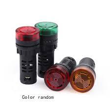 R Red <b>yellow</b>-green <b>light</b> lamp 22 mm <b>LED</b> pilot display panel AC ...