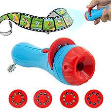 Buy FairOnly Kids <b>Cartoon</b> Flashlight Projector <b>Toys</b> Projector Slide ...