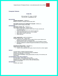 the best computer science resume sample collection how to write computer science resume samples
