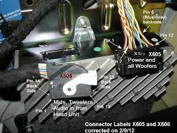 radio amp pin outs th radio amp pin outs