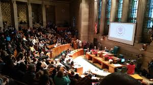 school board demands paladino s resignation wbfo the buffalo school board voted in front of a packed audience in common council chambers to oust carl paladino from the board