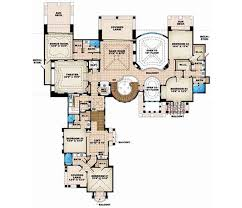 Florida Style House Plans   Plan   Upper Second Floor Plan