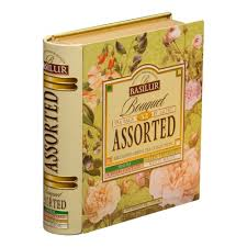 <b>Чай Basilur</b> Чайная книга Букет <b>Ассорти</b>, 48г — купить в интернет ...
