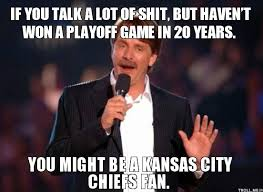 KANSAS CITY CHIEFS FUNNY QUOTES image quotes at relatably.com via Relatably.com