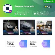 Official Store <b>Ecovacs</b> Indonesia - Jual Produk <b>Ecovacs</b> Indonesia ...