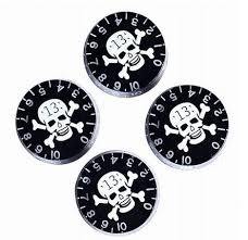 <b>Speed Control Knobs</b> With Skull Crossbones For Electric <b>Guitar</b> Sale ...