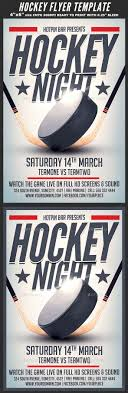 hockey match flyer template by hotpin graphicriver hockey match flyer template sports events