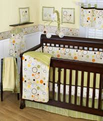 stunning winnie the pooh unisex baby room themes design featuring white painted wood baby crib charming baby furniture design ideas wooden
