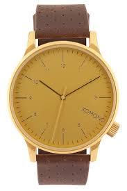 <b>Часы KOMONO</b> Winston (Gold) | www.rsu-servis.ru