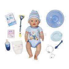 Интерактивная кукла мальчик zapf baby born, 43 <b>см</b> (822 012) в ...