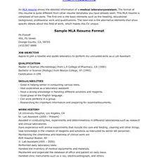 resume example mla resume format apa resume format how to write resume in mla format pic mla cover letter format mla resume format