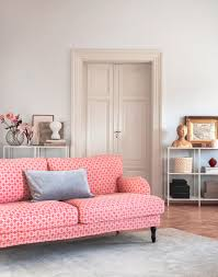 Pink Living Room Furniture Stocksund 3 Seater Sofa Cover Sofa Covers Models And Antiques