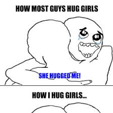 Awkward Hugging by reflys - Meme Center via Relatably.com