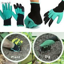 ISHOWTIENDA <b>1 Pair</b> 24 * 12 cm <b>New Gardening</b> Gloves For ...