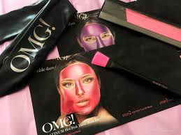Double Dare Omg! Platinum Hot Pink Fasial Mask Kit ...